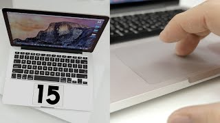 Top 15 Hidden Force Click Features on the 2015 MacBook!
