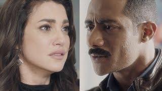 """فيروز تطلب الطلاق من زين القناوي  """"انت كداب وخاين"""" - مسلسل نسر الصعيد - محمد رمضان"""