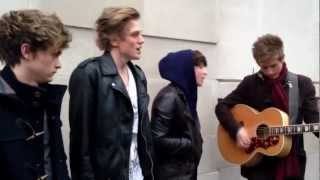 The Vamps - 'She Was The One' performing in Holborn