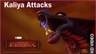 Little Krishna | Kaalia Attacks | Clip