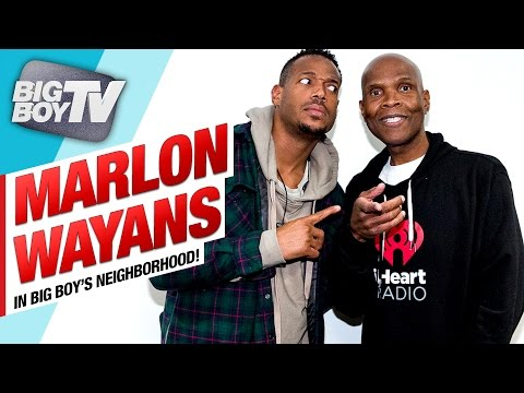 Marlon Wayans on His New Show Marlon & His Stand Up Tour BigBoyTV
