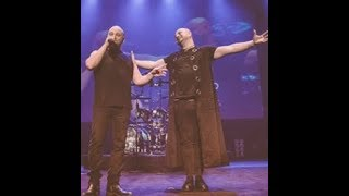 Disturbed joined onstage by a David Draiman look-alike in the UK..!