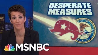 Republican Attack On Robert Mueller Donald Trump Investigation Falls Apart | Rachel Maddow | MSNBC
