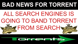 bad news for torrent lovers