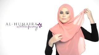 JANE shawl styling tutorial by Al-Humaira Contemporary