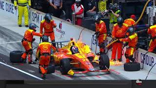 Indycar on Fire, No porblem for Zack Veach  Indy500  2018