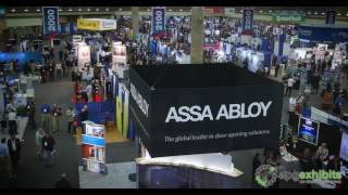 NFMT Trade Show Time Lapse   Baltimore Convention Center - 4K