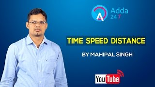 TIME SPEED DISTANCE BY MAHIPAL SINGH