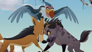 Lion Guard:  I'm Gonna Run This Dump song | The Kilio Valley Fire HD Clip