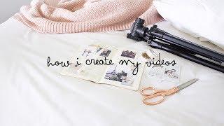 how i create my videos