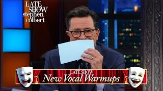 Allison Janney Tries The Late Show