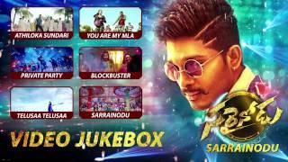 Sarrainodu songs Video Jukebox  Telugu Songs 2016