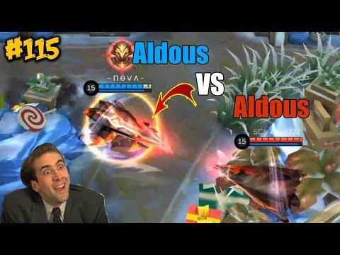 Mobile Legends WTF Funny Moments Episode 115 Aldous Vs Aldous