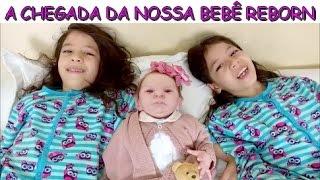 A CHEGADA DA NOSSA BEBÊ REBORN - PRESENTE DE DIA DAS CRIANÇAS