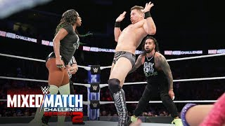 "Miz tells Asuka ""there's no hugging in wrestling!"" on WWE MMC"