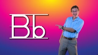 Learn The Letter B | Let's Learn About The Alphabet | Phonics Song For Kids | Jack Hartmann