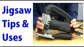 Jigsaw Use & Tips -  Woodworking for Beginners #22  - woodworkweb
