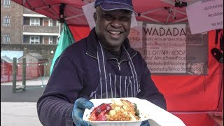 African Street Food from Ghana. Colourful and Yummy, London