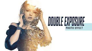 Double Exposure Effect Photoshop Tutorial #01