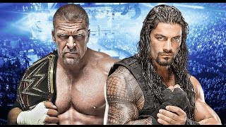 Triple H vs Roman Reigns Wrestlemania 32 Promo HD