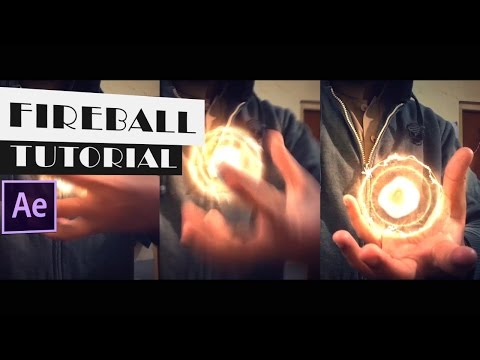 After Effects Tutorial: Energy/Fireball In Hand Tutorial || Saber Plug-In