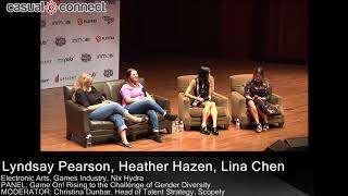 Game On! Rising to the Challenge of Gender Diversity | PANEL