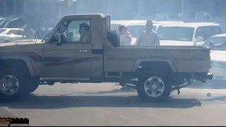 محاولة سرقة جيب شاص من معرض سيارات في حي النسيم شرق العاصمه الرياض