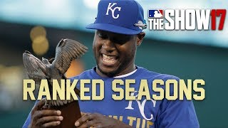 RANKED SEASONS! [MLB The Show 17 Diamond Dynasty]