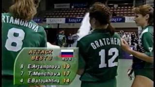 Volleyball - Russia vs Japan 1996 World Grand Prix Sendai Part6/6