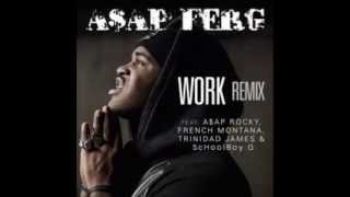A$AP Ferg -  Work REMIX (Clean)