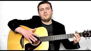 Hallelujah - Fingerstyle - Guitar Tutorial - Intermediate Instrumental - Drue James