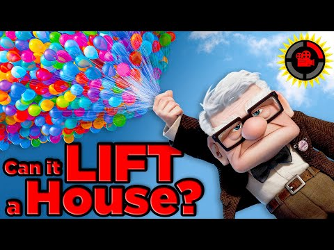 Film Theory Pixar s Up How Many Balloons Does It Take To Lift A House