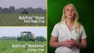 New John Deere AutoTrac Vision and AutoTrac RowSense Sprayer Guidance Systems