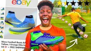 I Bought the WORST Reviewed Football Boots on EBAY & Played Like Messi, Ronaldo & Neymar