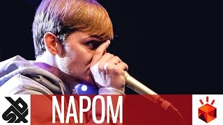 NaPoM  |  Grand Beatbox SHOWCASE Battle 2017  |  Elimination