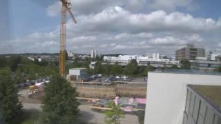 Zeitraffer-Film Nobelstraße 10a
