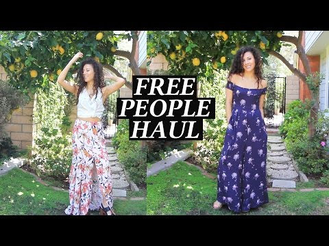 Free People Haul Summer and Spring Fashion 2016 with Rackery