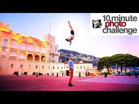 Extremely INSANE Cirque du Soleil 10 Minute Photo Challenge Don t try this