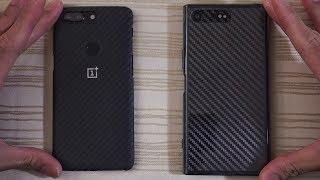 OnePlus 5T Oreo vs Sony Xperia XZ Premium Oreo - Speed Test!
