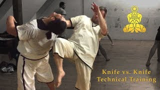 MIED - Knife vs. Knife - Technical Training