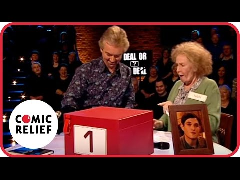 Nan Taylor on 'Deal or No Deal' | Comic Relief