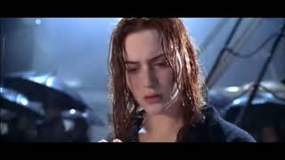 Titanic Scene - Old Rose throws the Heart of the Ocean into the sea