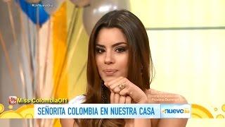Ariadna Gutierrez, Miss Colombia en Un Nuevo Día de Telemundo