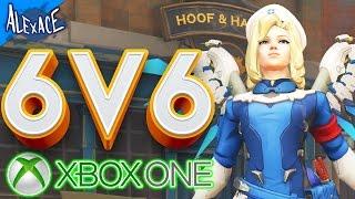 XBOX ONE 6V6 HERO CHALLENGE? l OVERWATCH CUSTOM GAMEMODE!