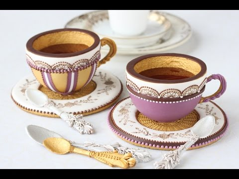How to Make 3-D Cookie Teacups
