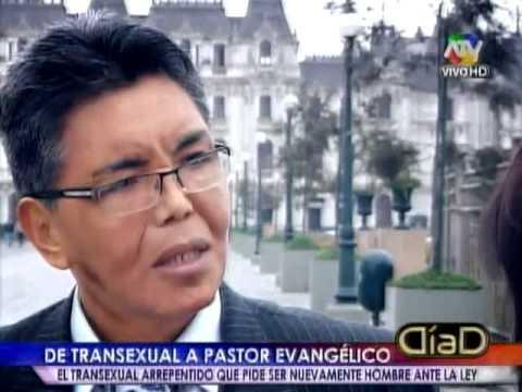 Tuteve.tv De transexual a Pastor Carmen Claudia pide nuevamente ser varón ante la ley