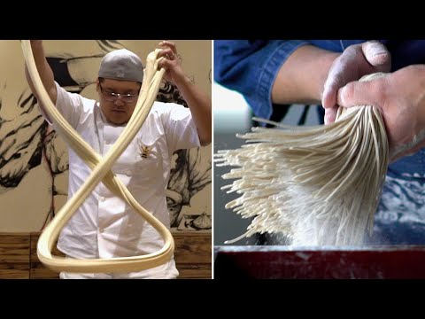The Art Of Making Noodles By Hand