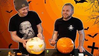 Pumpkin Carving Challenge With iBallisticSquid