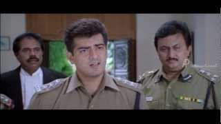 Anjaneya - Ajith becomes a police officer