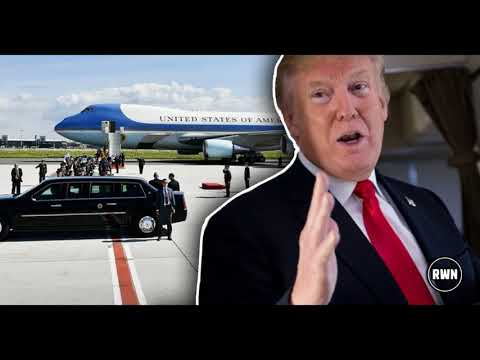 Secret Service On High Alert After What Sick Celeb Just Stole From Trump On Air Force One